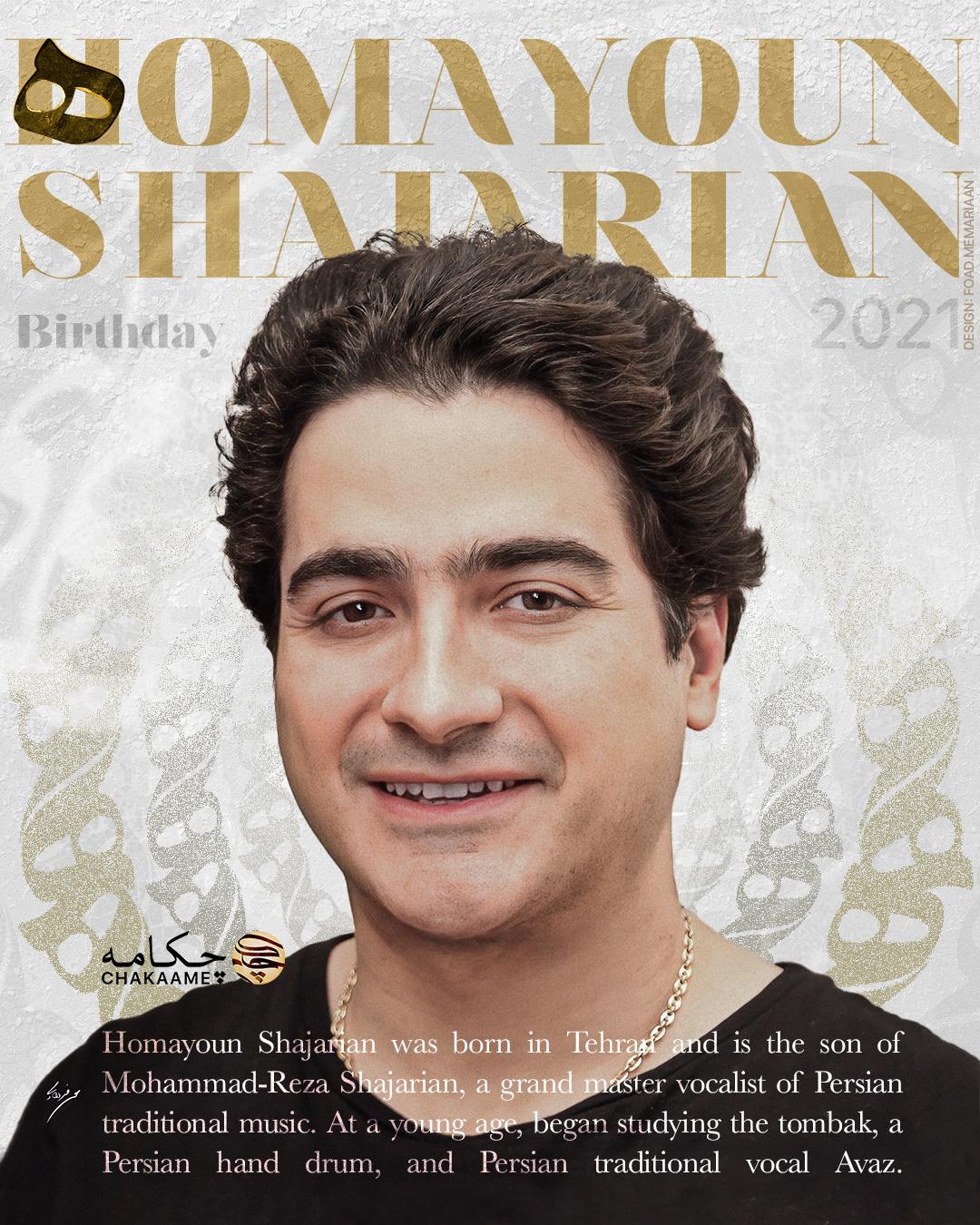 arabic Calligraphy   Celebrity Foad Memariaan Homayoun Shajarian magazine memariaan persian poster shajarian