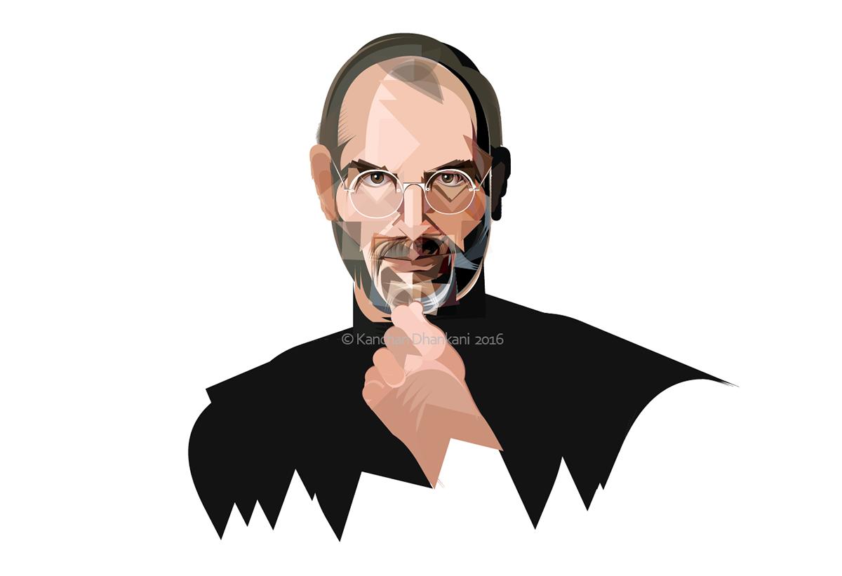 Inspiration Steve Jobs Kanchize On Behance