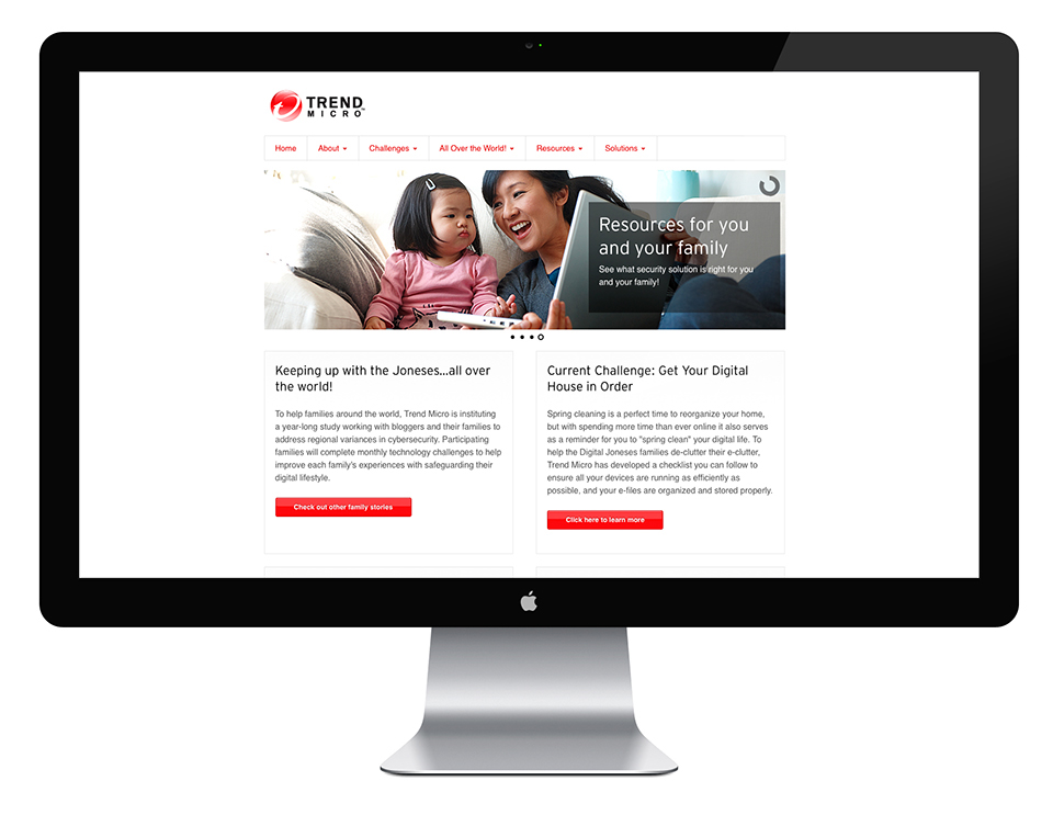 html5 foundation Responsive mobile Trend Micro css3