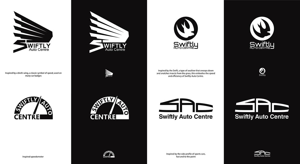 Identity Design rebranding Auto Auto Repair car car repair business card car logo
