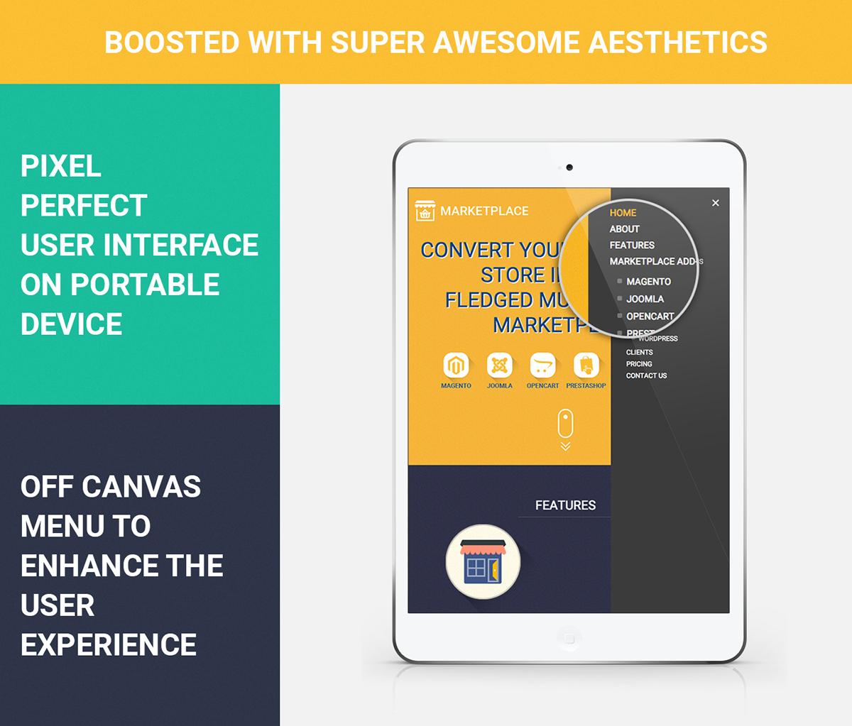 World's Best Webkul Multi Vendor Marketplace Website UI on