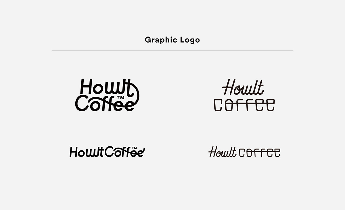 Graphic logo of Howlt Coffee
