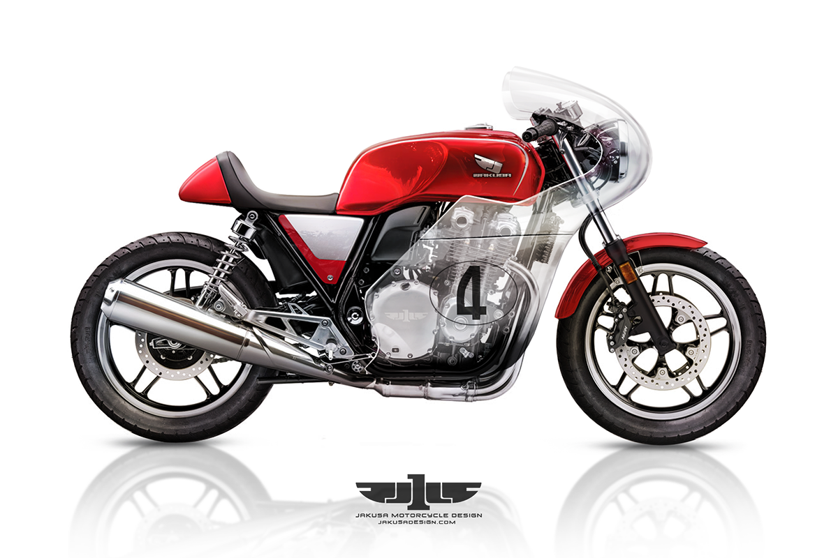 CB1100 Vetro On Behance