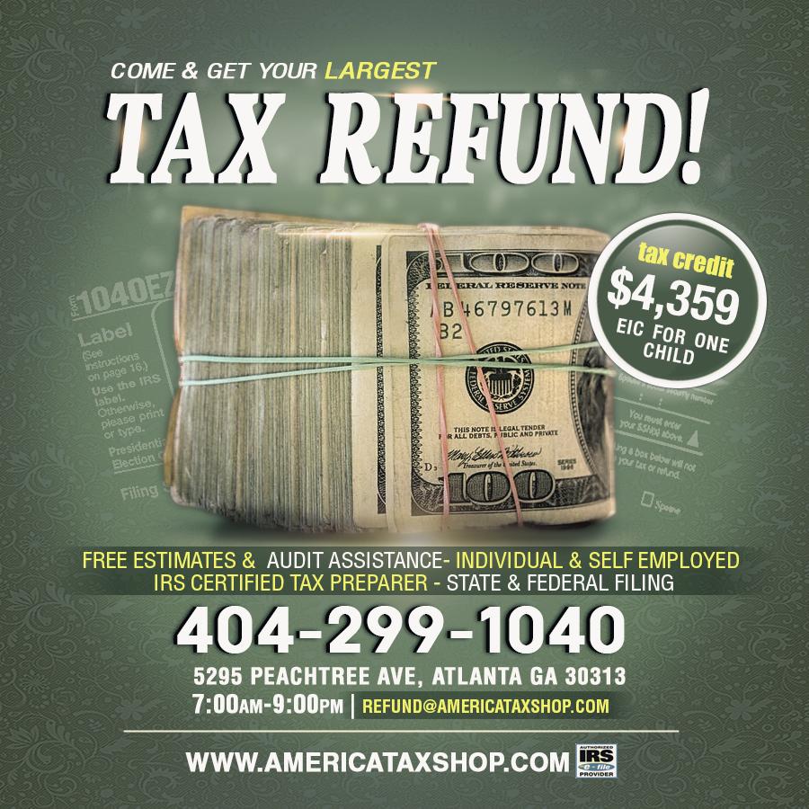 Tax Preparation Flyer Psd Ceriunicaasl