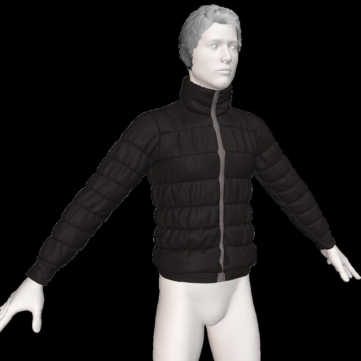 marvelous designer keyshot fashion design design 3D cloth diseño de modas chaqueta