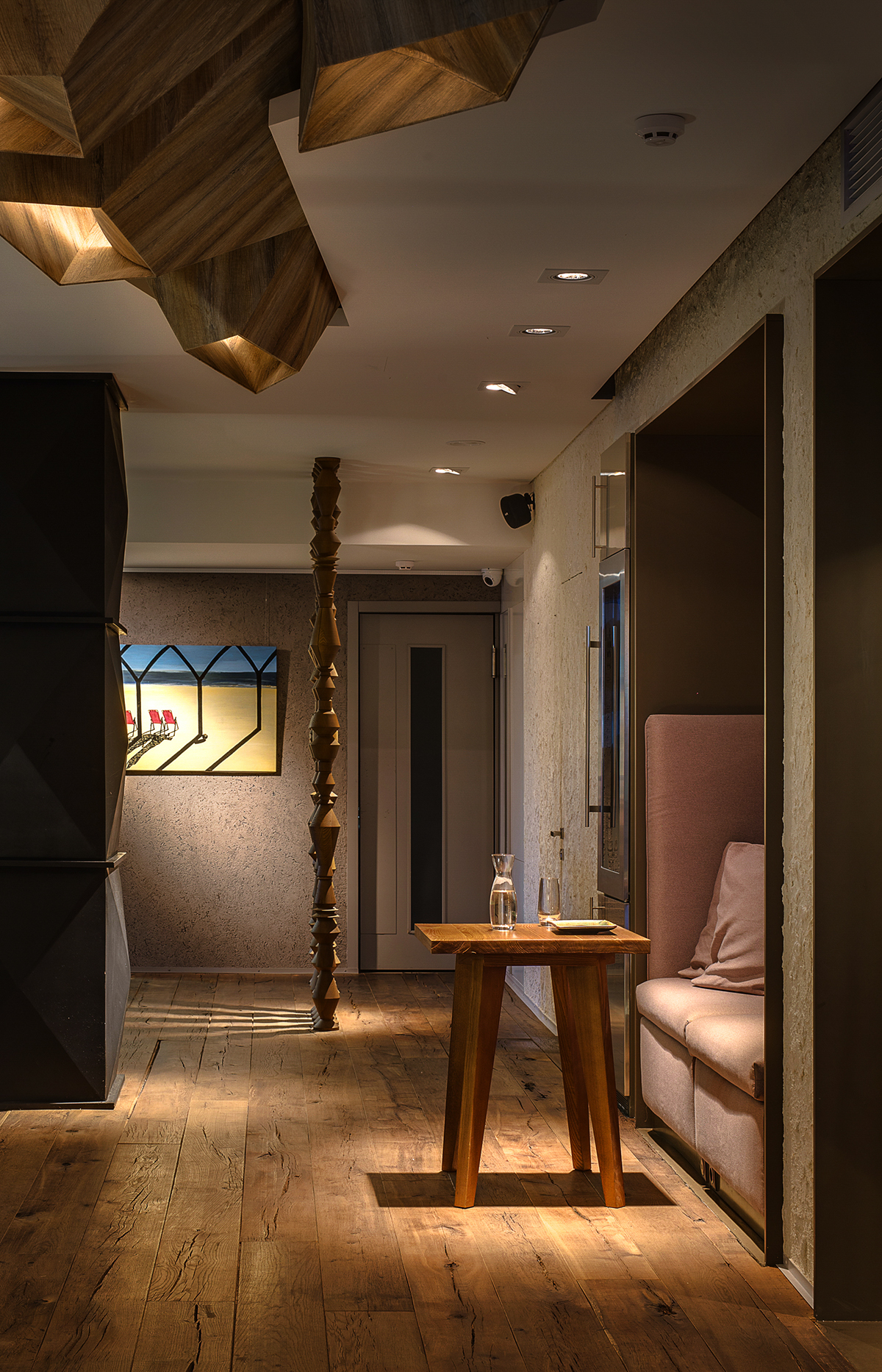 kiev ukraine balbek 2bgroup restaurant Interior natural design