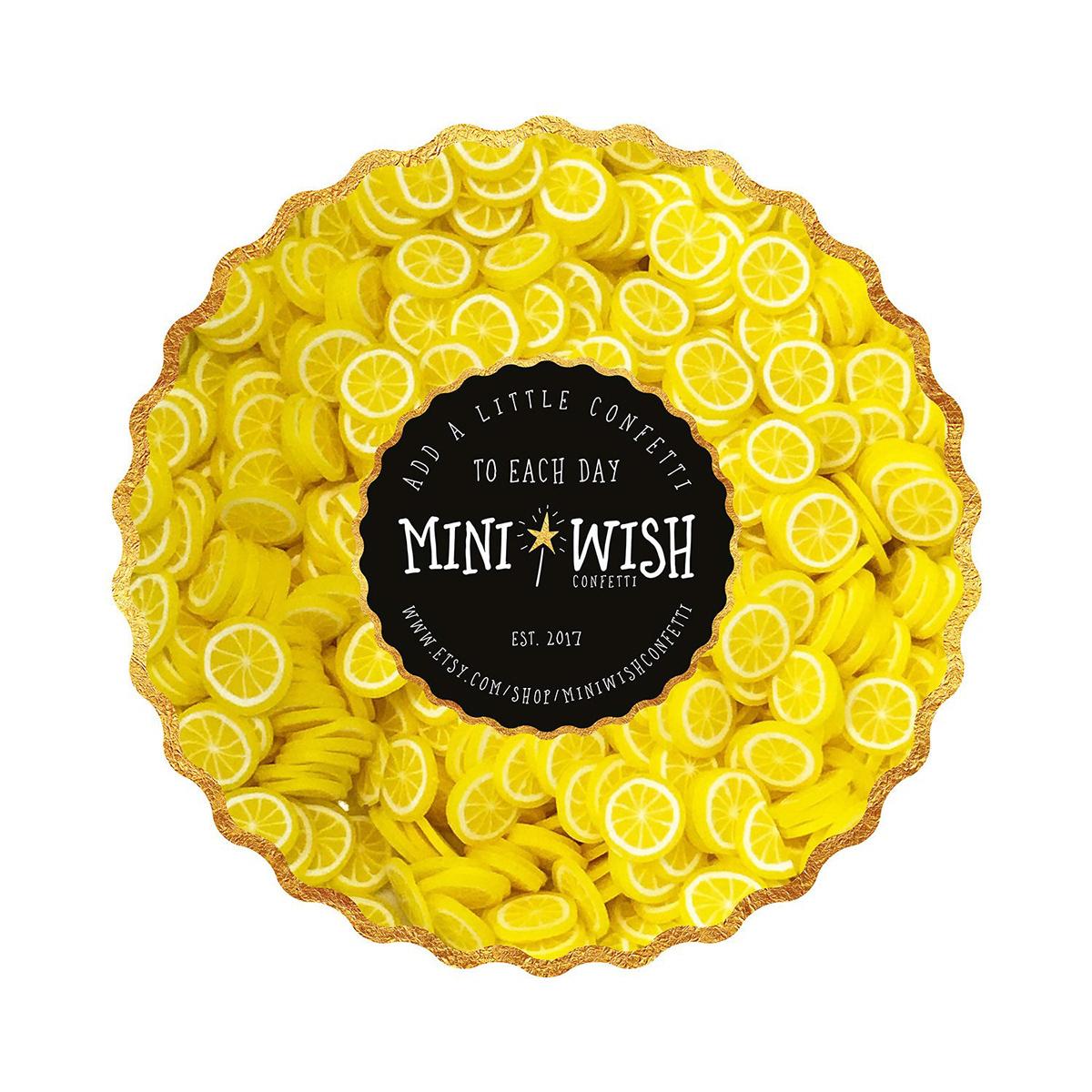 Brand Identity Mini Wish Confetti On Pantone Canvas Gallery