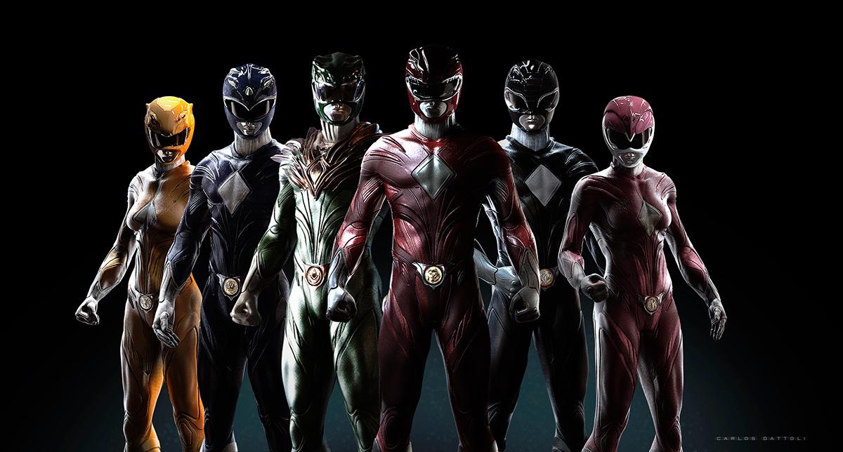 Power Rangers Redesign On Behance