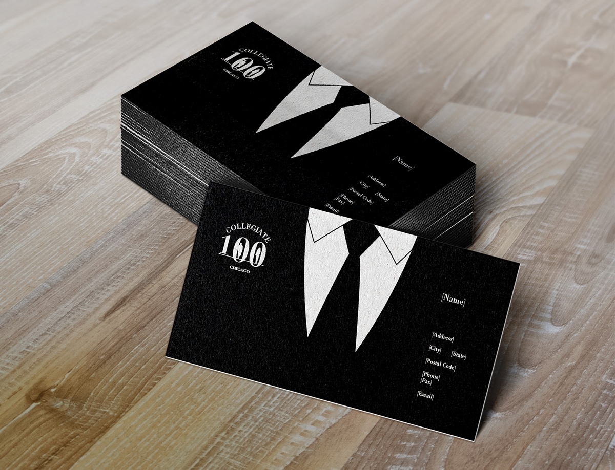 Collegiate 100 Chicago Business Cards on Behance