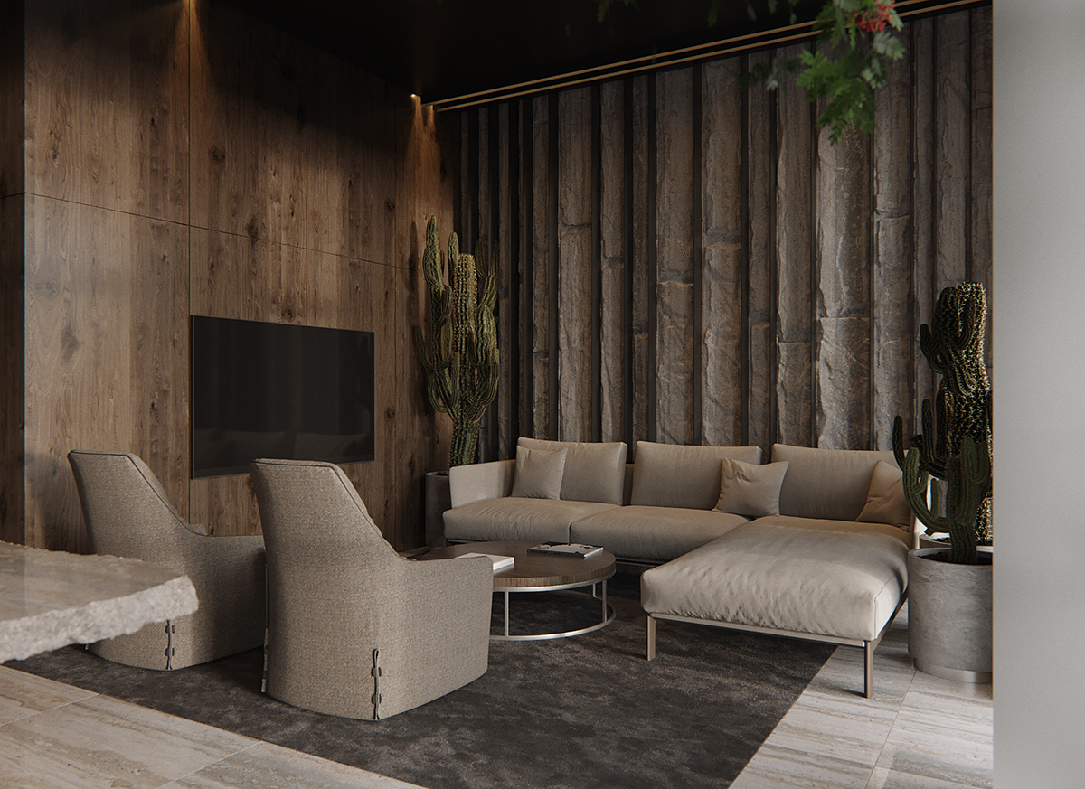 TRULY NATURAL | PART 1 | Lobby. Moscow, Russia. on Behance