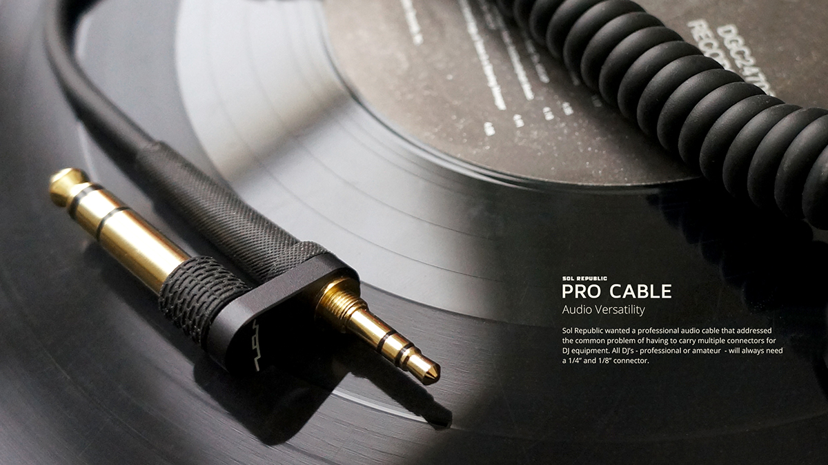 Sol Republic | Pro Cables on Behance
