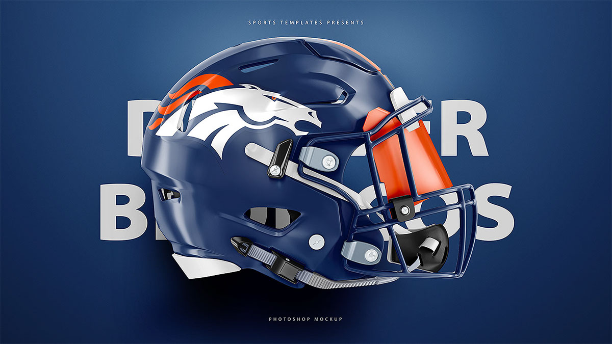 football helmet psd mockup for schutt  u0026 riddell on pantone canvas gallery
