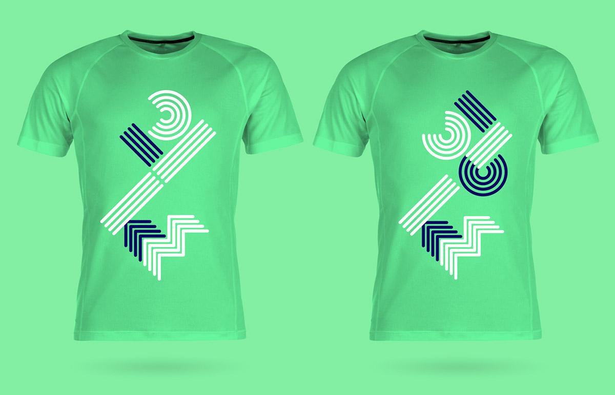 Running T Shirt Designs   Adidas Twooceans Marathon T Shirts On Behance