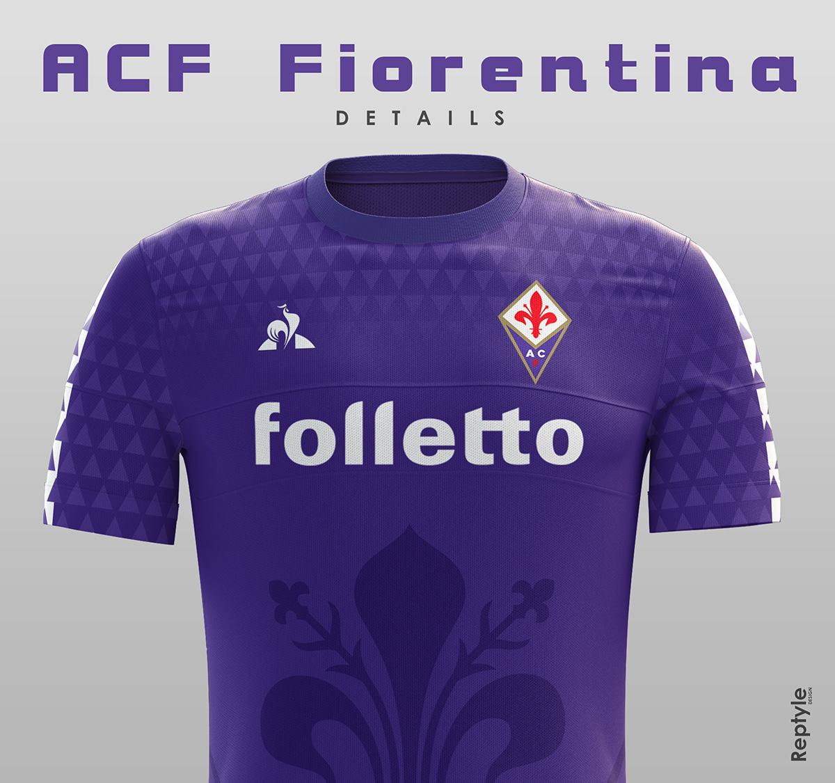 ACF Fiorentina soccer kit concept on Behance 4374d6181