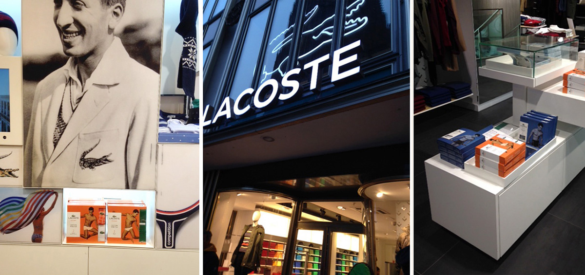 buy popular 62b08 eb9b8 Lacoste Packaging at retail on Behance
