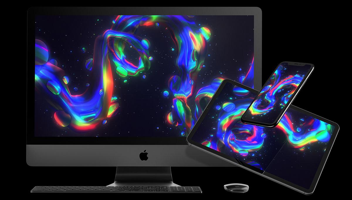 3D abstract desktop download free neon phone Space  wallpaper