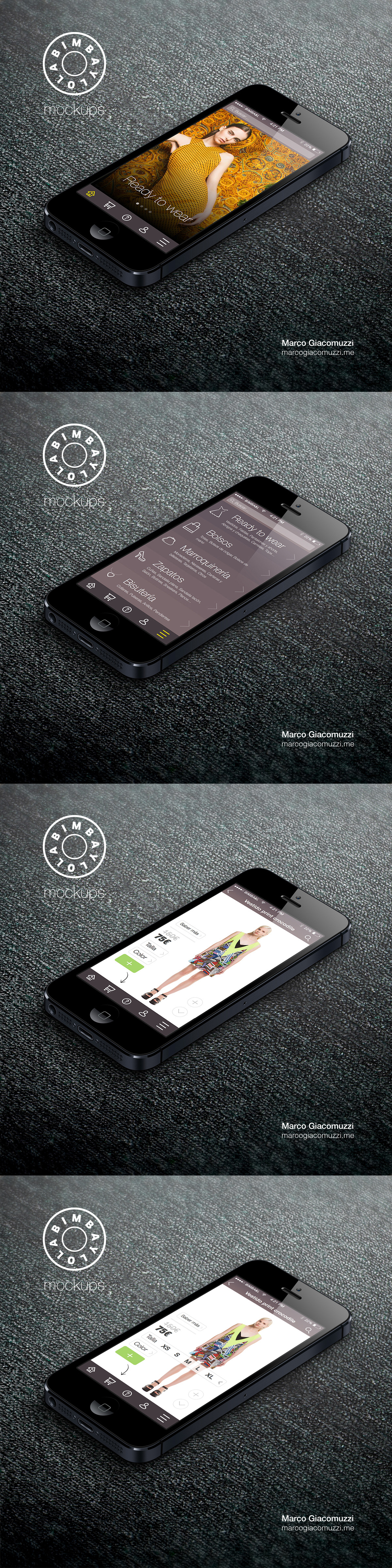 iphone,UI,Ecommerce,smartphone,inspiration