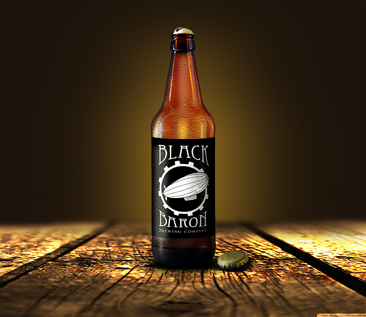 Black Baron Brewing Company On Behance