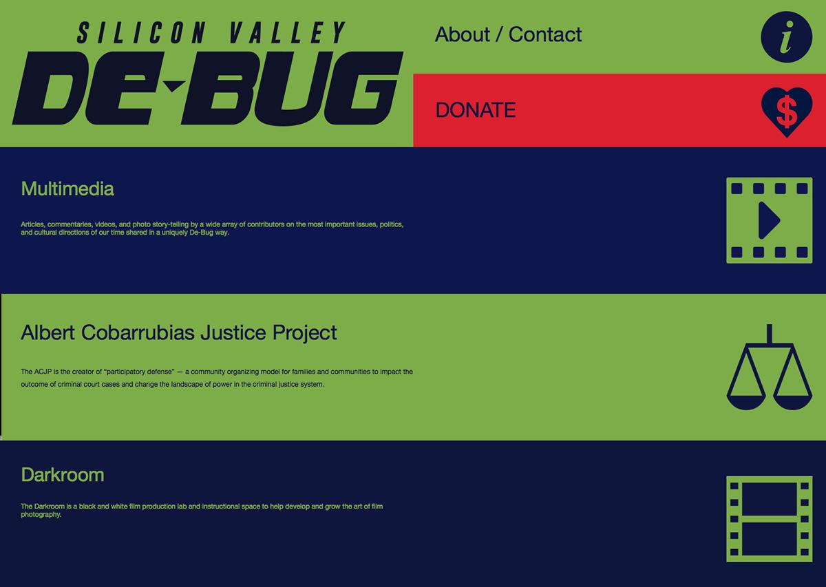 nonprofit ux UI flag design