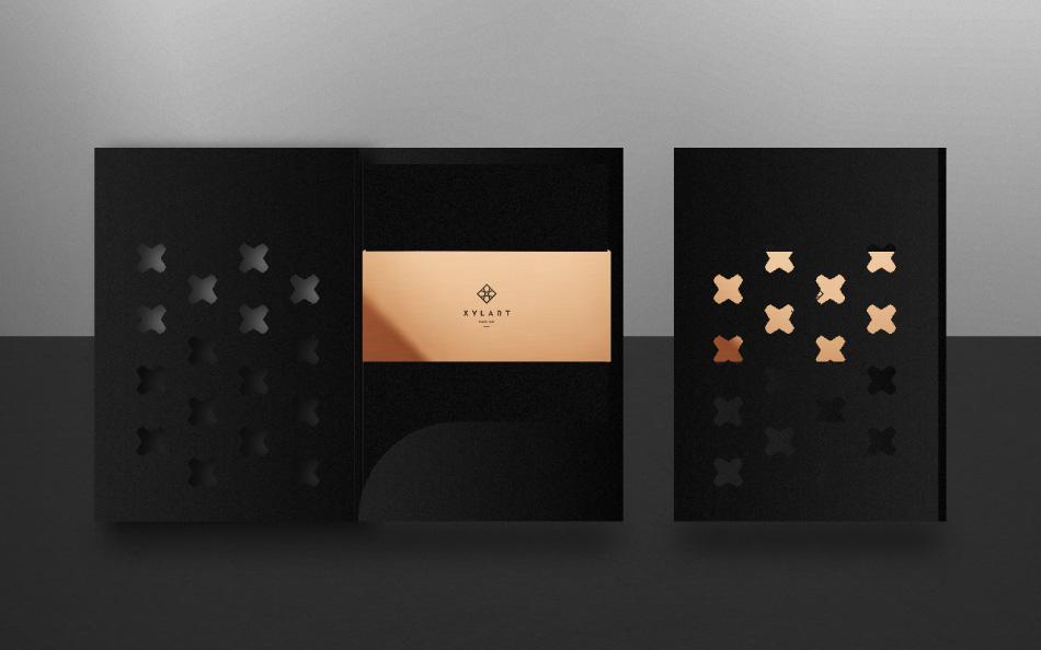 xylart wood logo mark athens stit angelos botsis emblem boutique xylo identity art woodwork wacom pantone