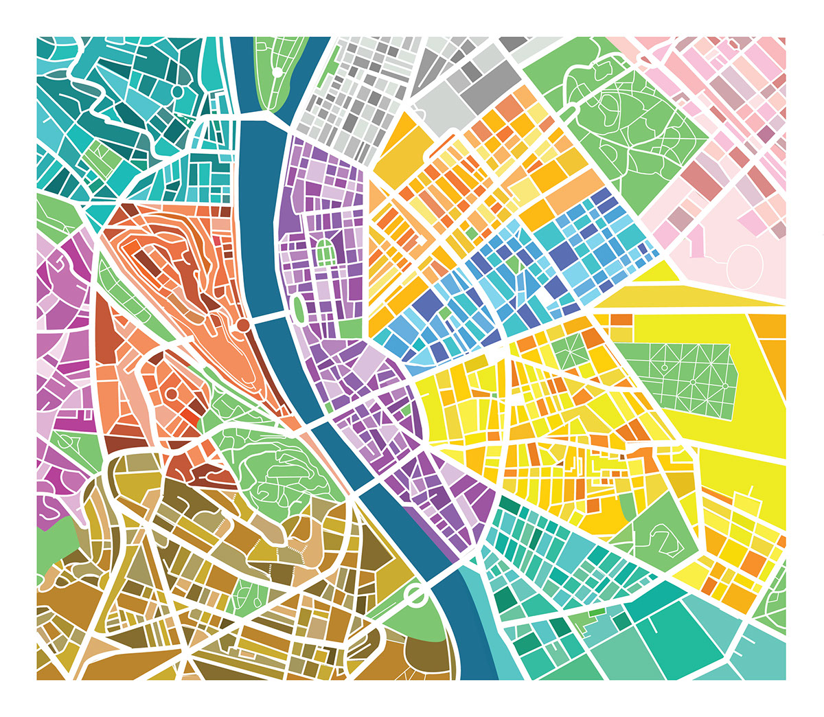 map map design Budapest map zoom Fun Map sightseeing journey egg map city map Travel Travelling travel design City Tour tourism Gadget