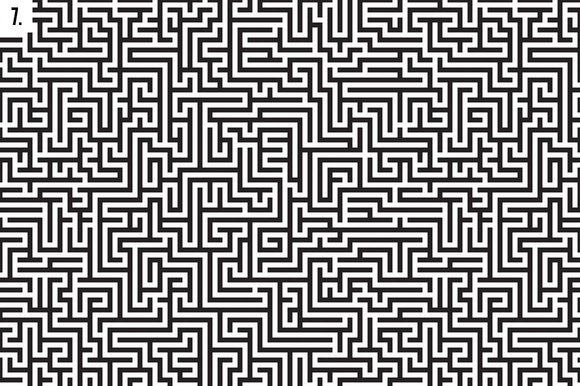 Maze Patterns On Behance