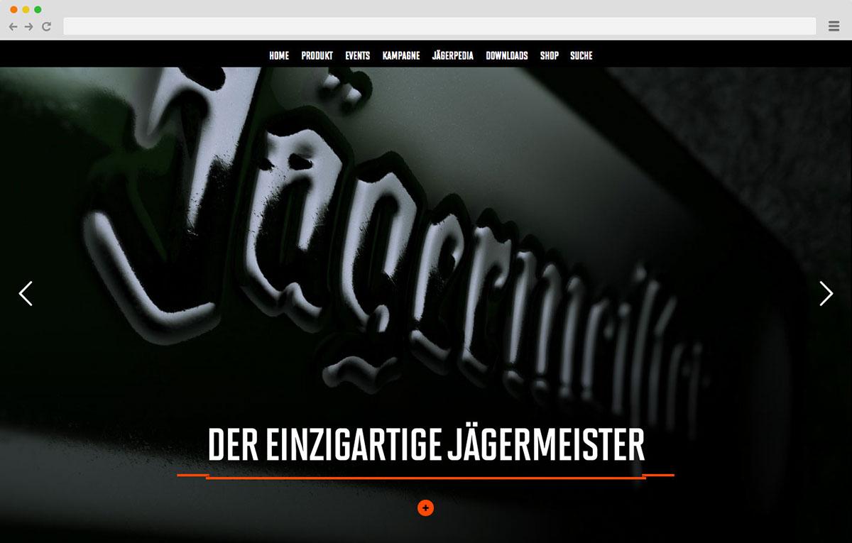Jagermeister,3D,productdesign,Webdesign,Webspecial,mobile