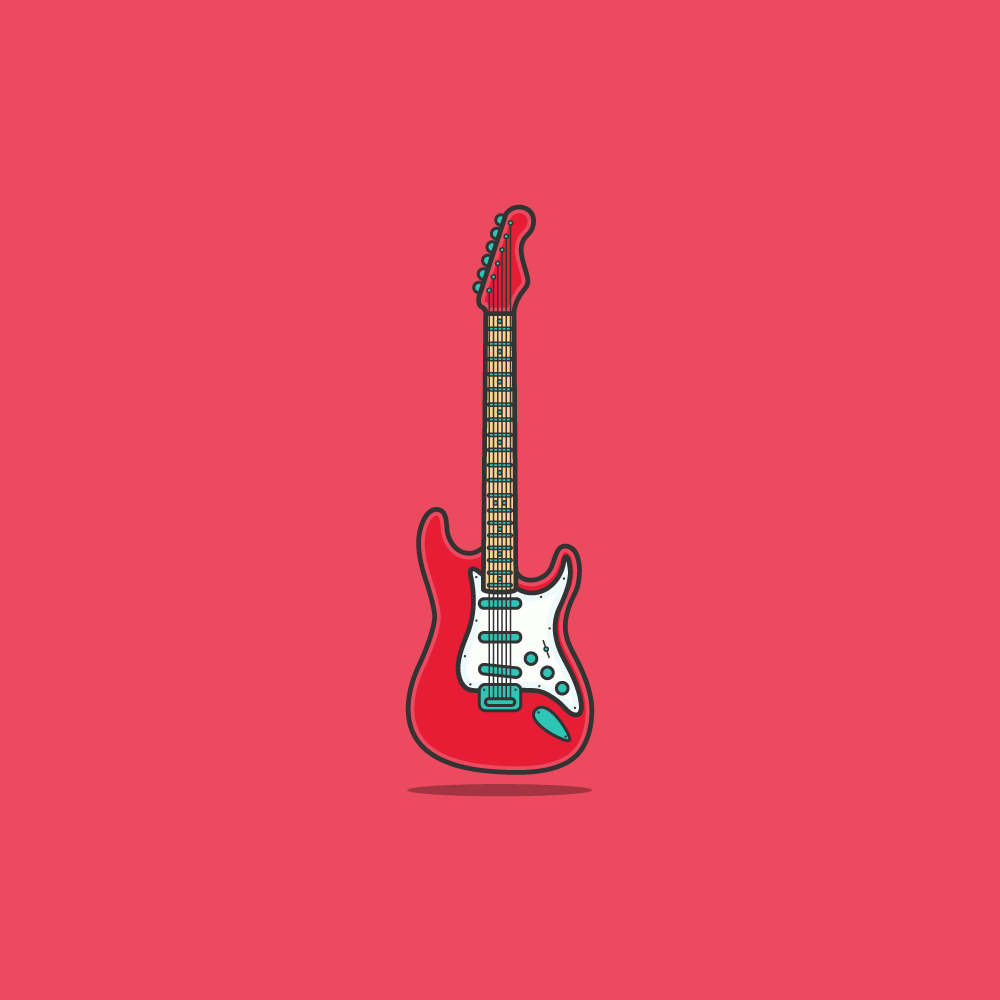 #flat #icon #illustration #linework   #thicklines #Vector #web   #CodePen #animation #interactive   #music