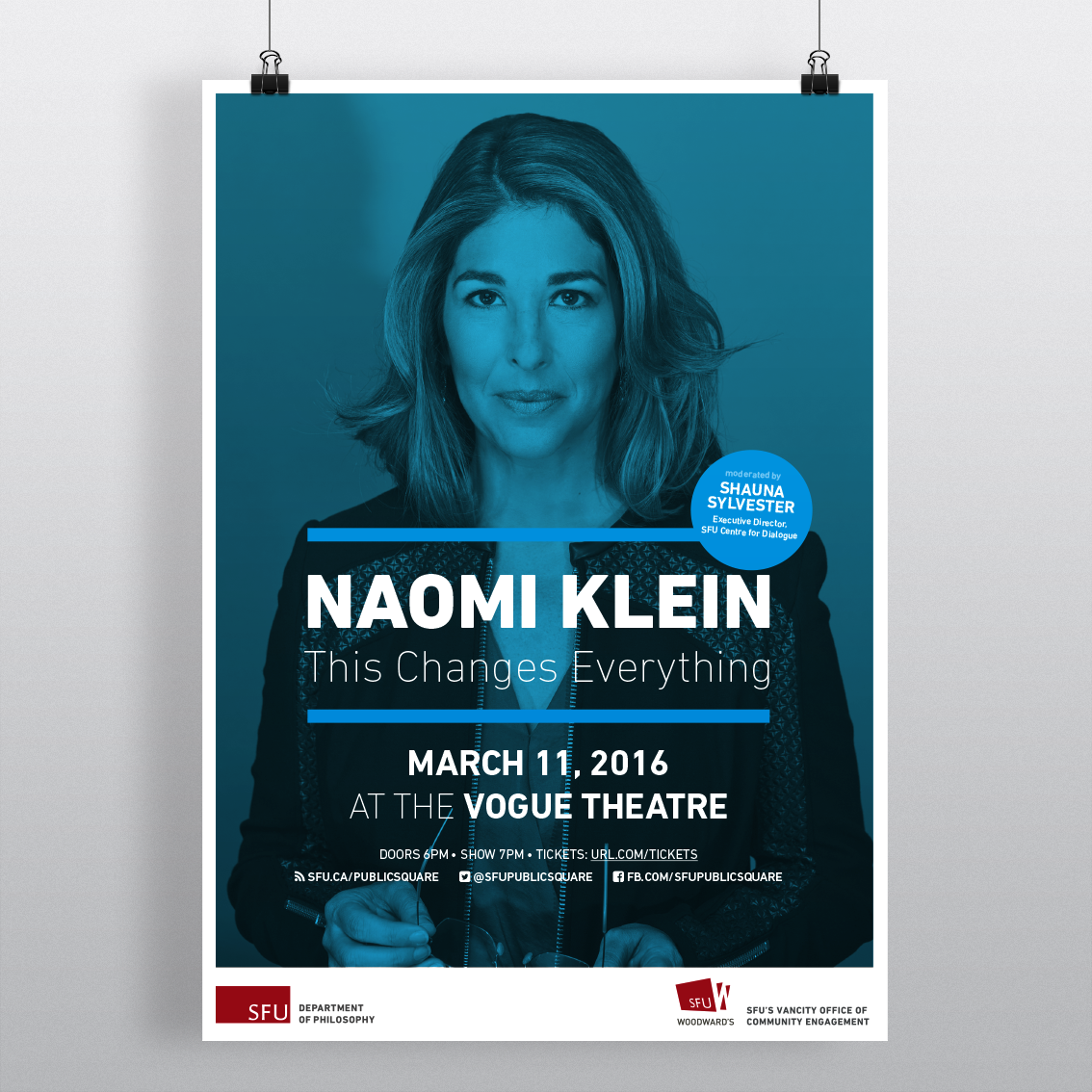 naomi klein book presentation poster on behance