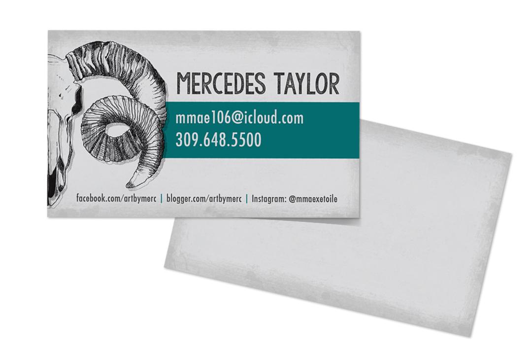 Artist Business Cards on Behance