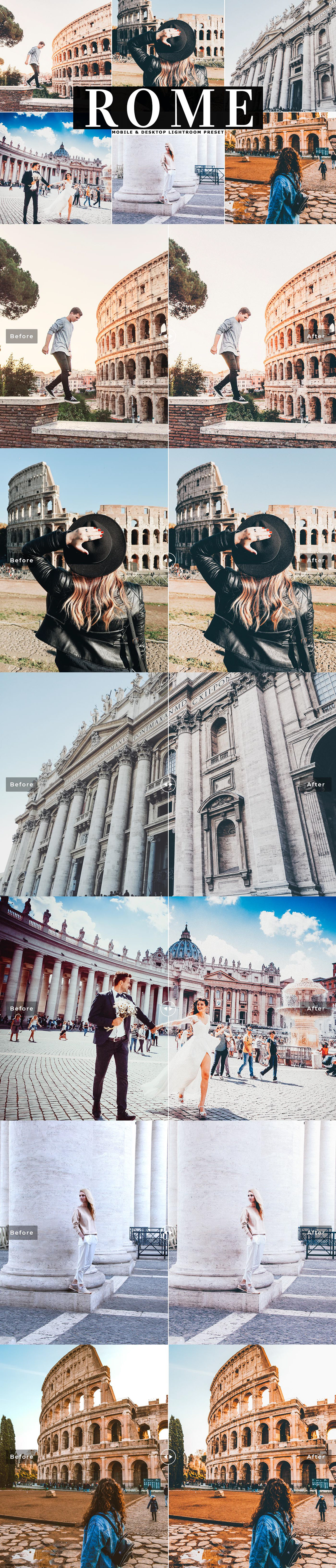 Free Rome Mobile & Desktop Lightroom Preset on Student Show