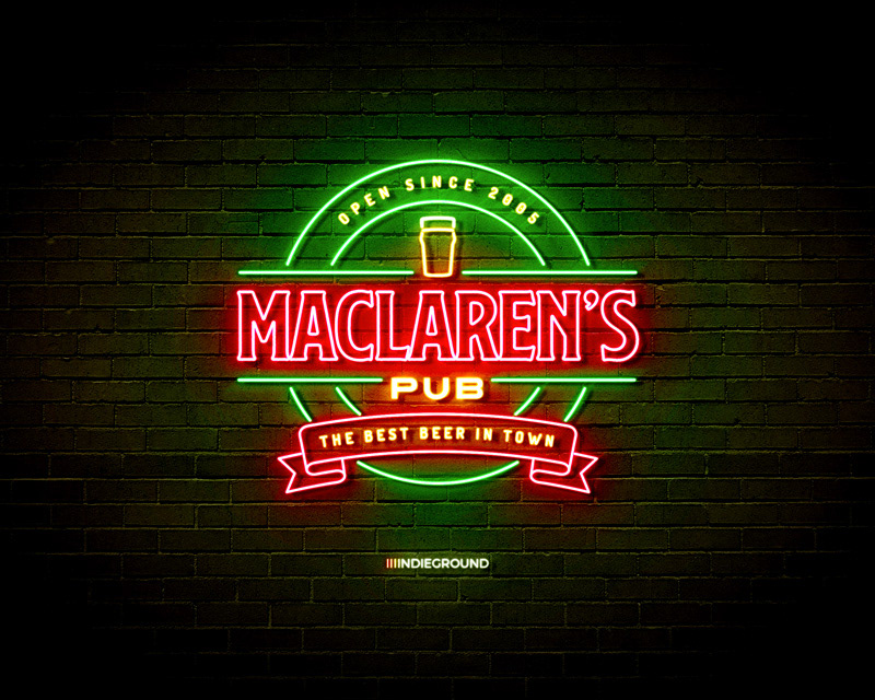 neon,effects,photoshop,psd,vector,signs,logo,lights,Mockup,action