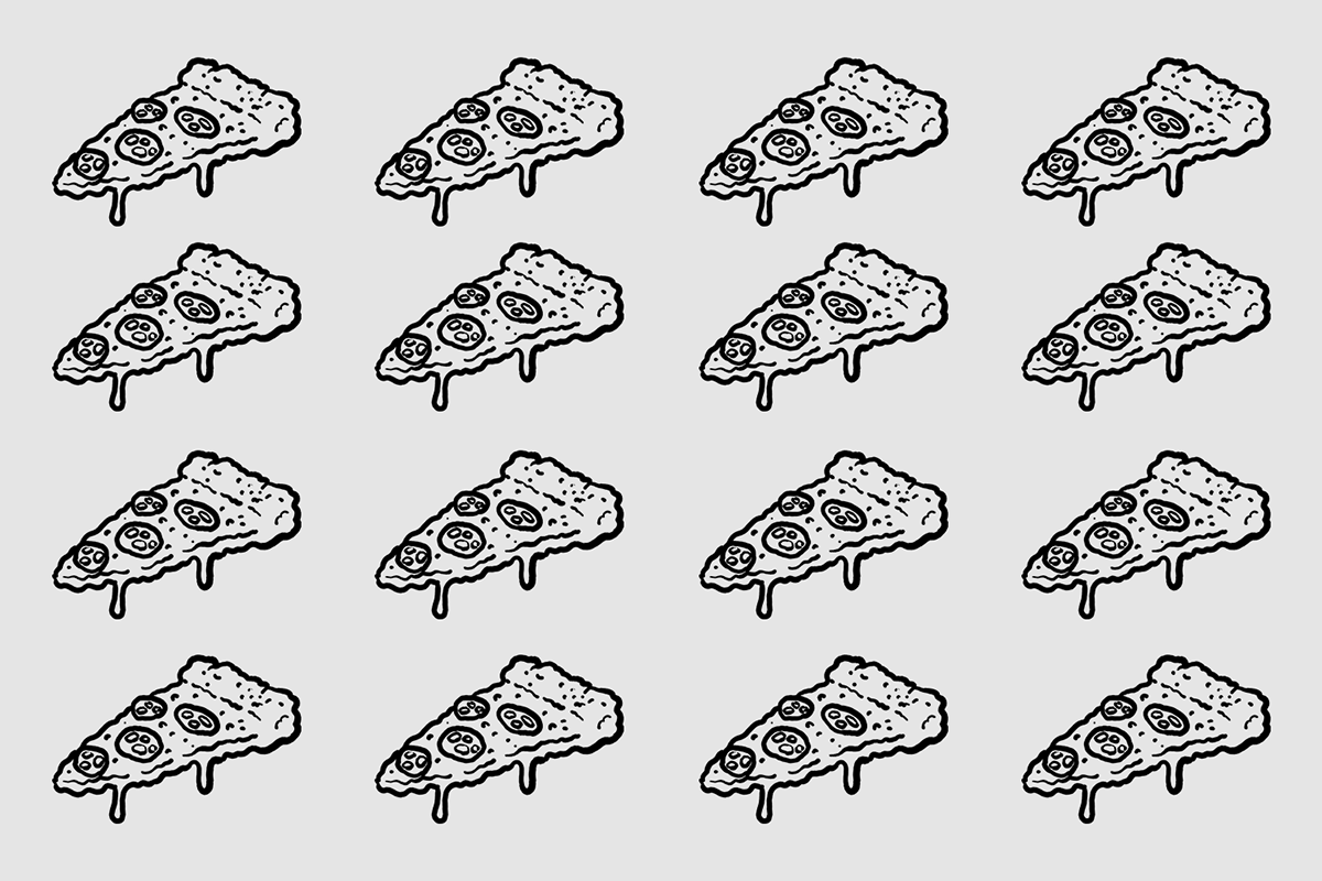 branding  art direction  logo Pizza