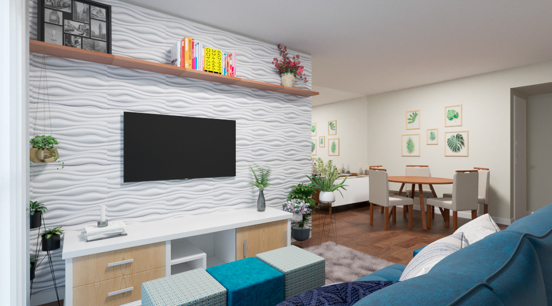architecture arquitetura de interiores design design de interiores dinner room projeto online room sala tv room