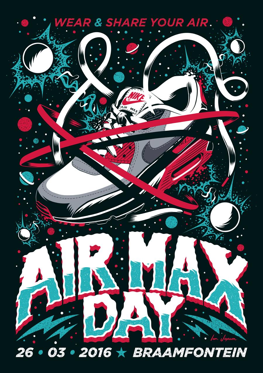 nike air max poster