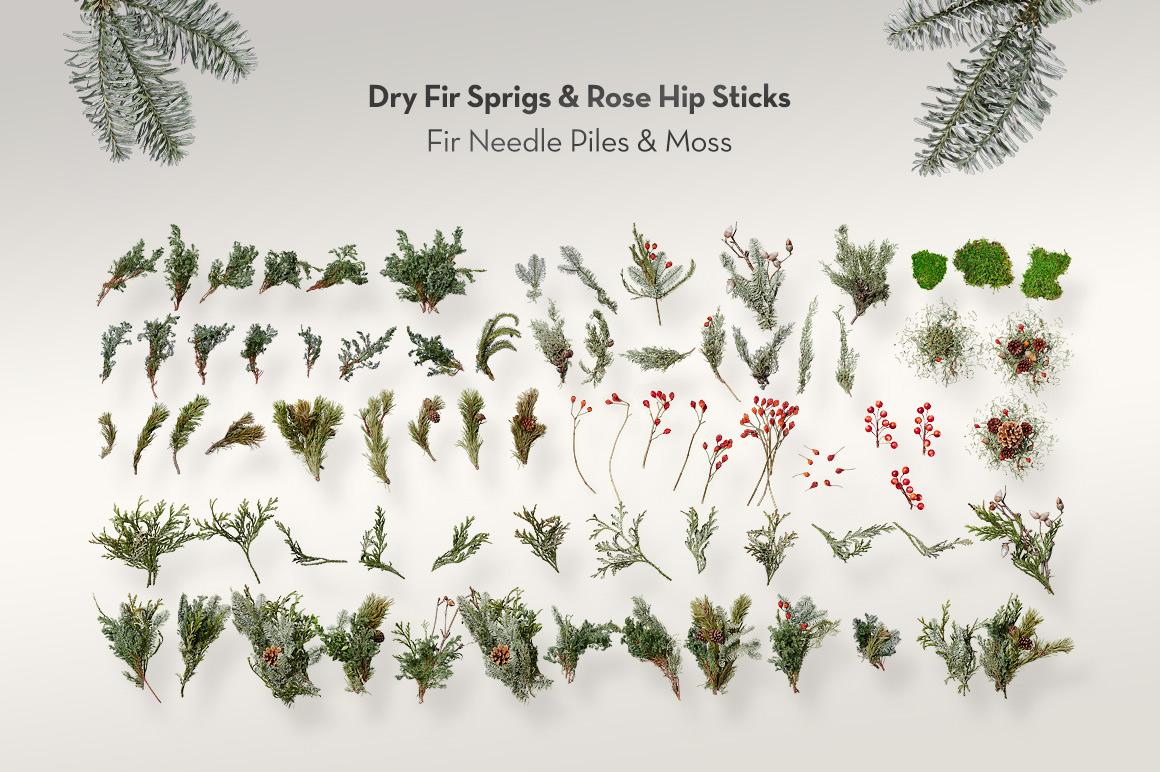 natural Christmas objects fir green Stuff firtree deco Advent wreath