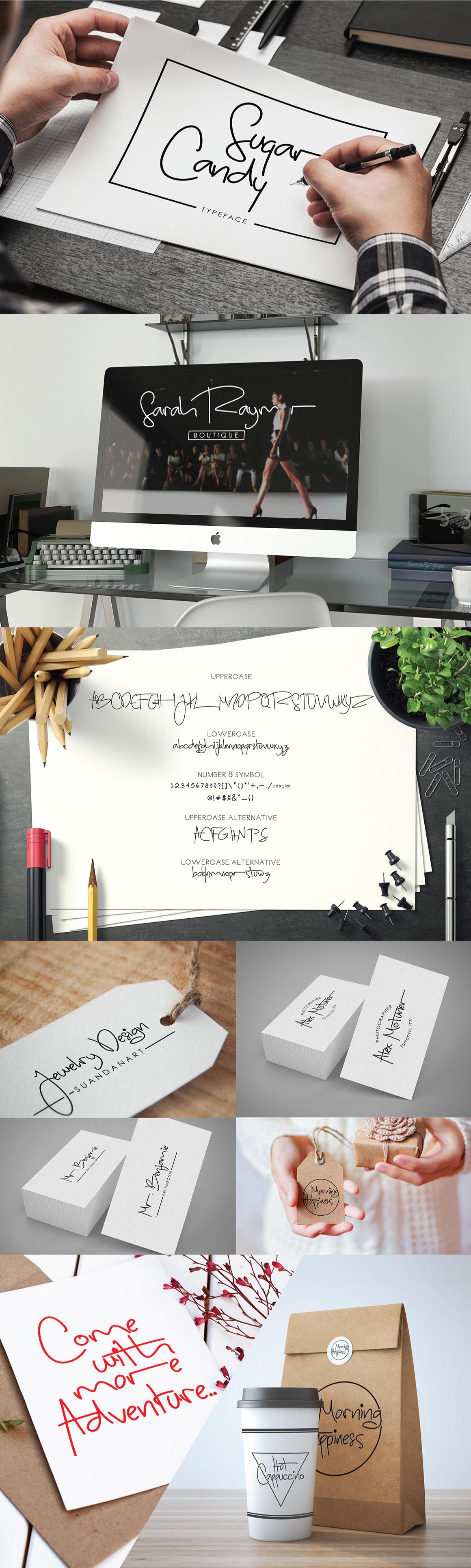 Free font free fonts freebie freebies free signature font Typeface logo hand drawn
