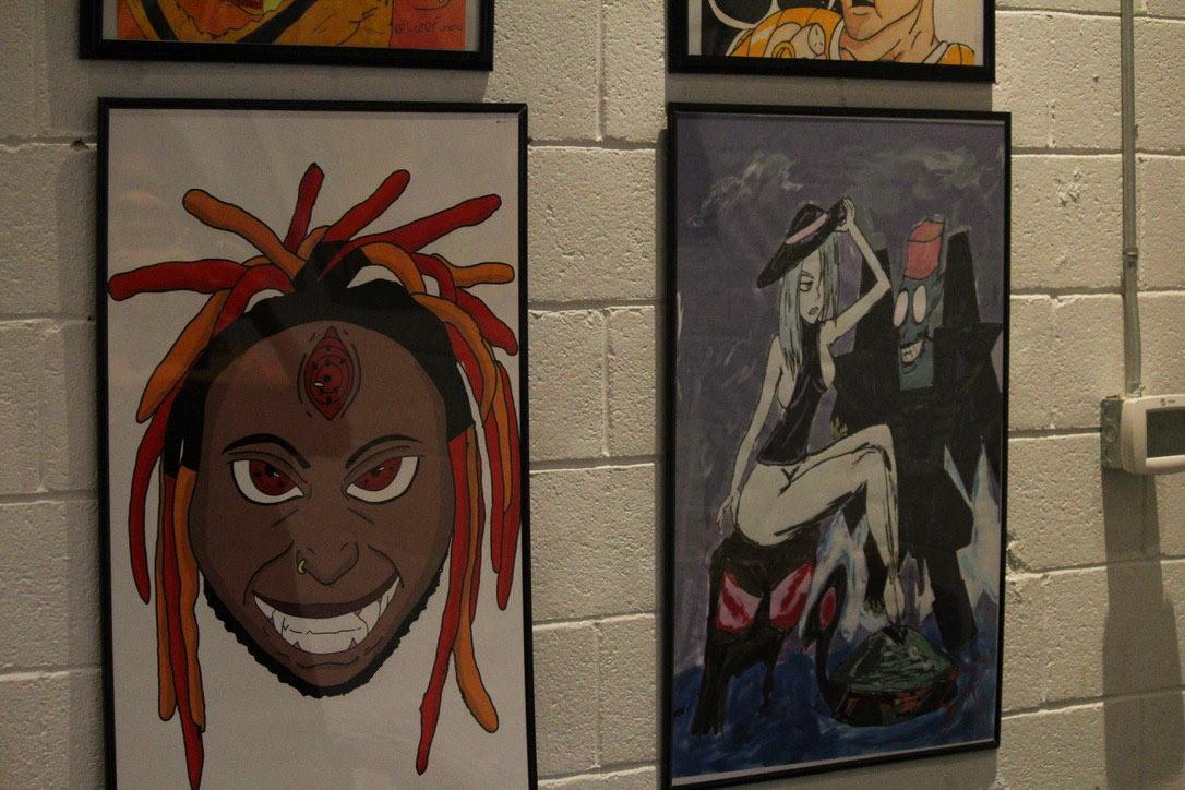 AZumakara artshow campnorthend anime Photography  afrofuturism