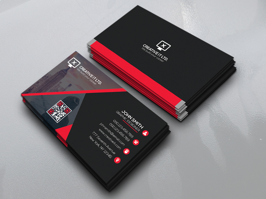 Creative business card bundle on behance reheart Images