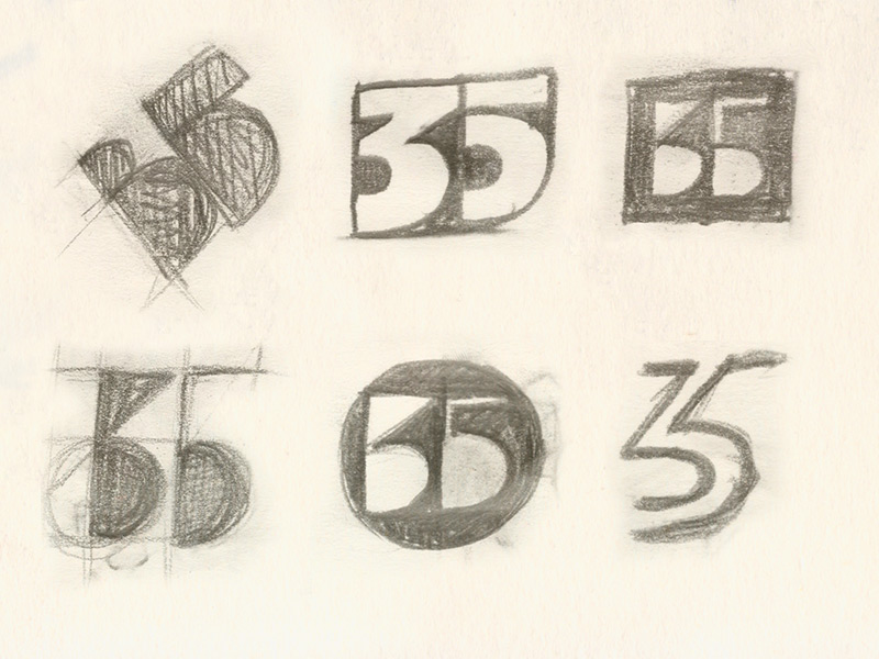 35 years after / forward initial sketches