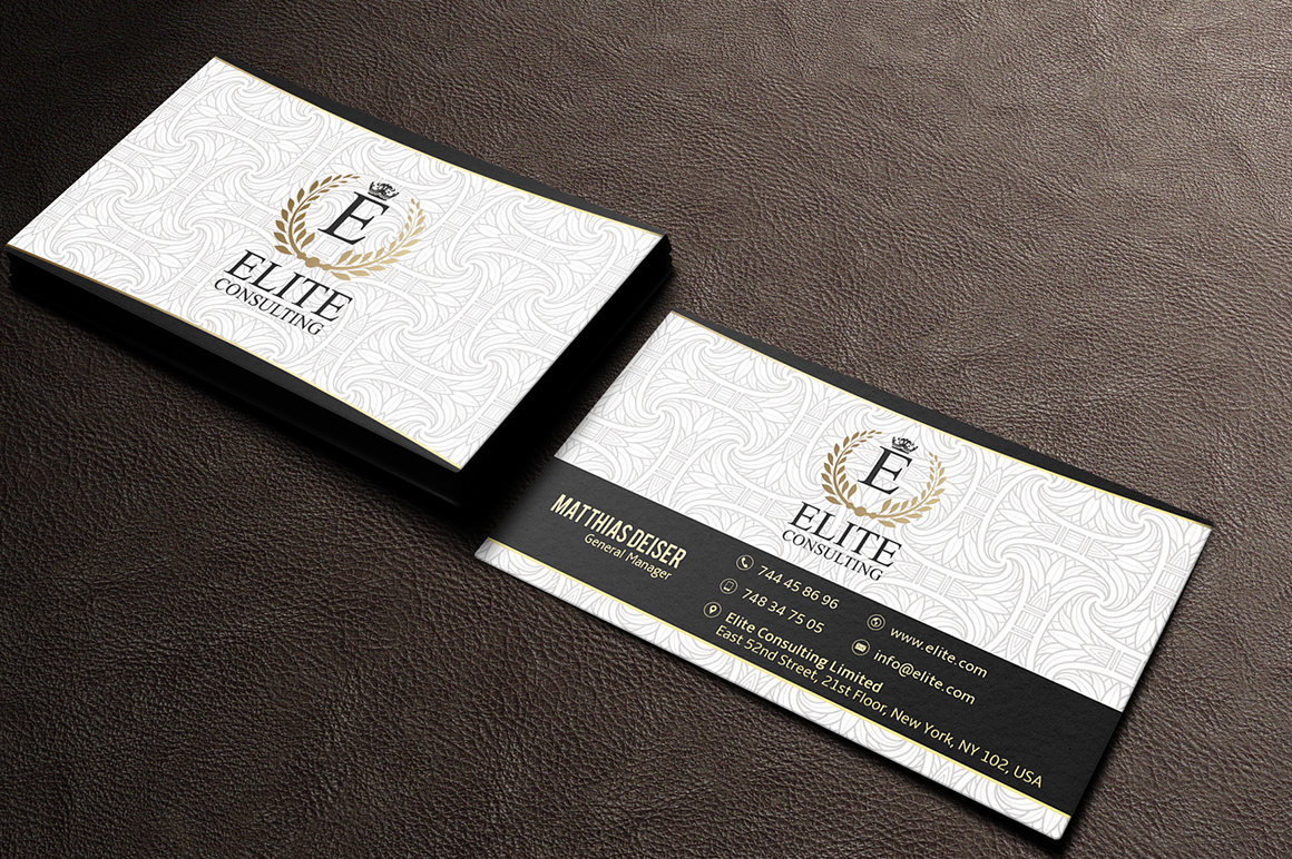 Gold Business Card Bundle + 15 Templates on Behance