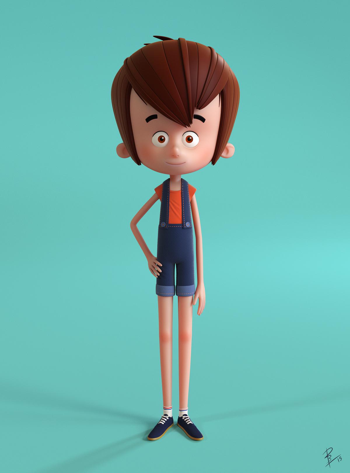Character Design C4d Tutorial : D modeling on behance