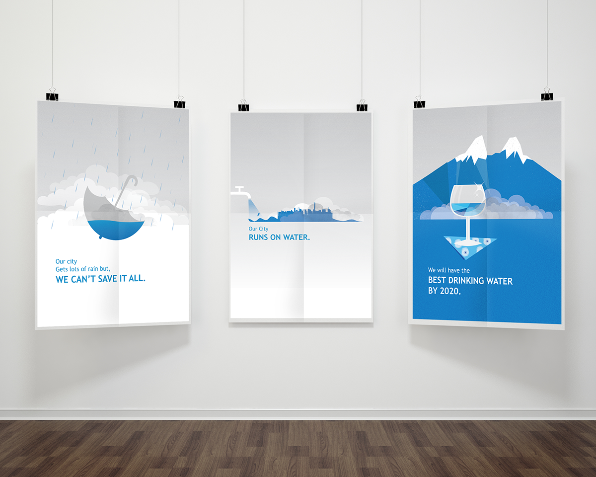 Poster design on save water - Water Conservation Poster