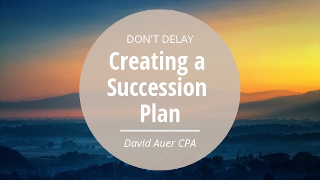 David Auer CPA retirement succession
