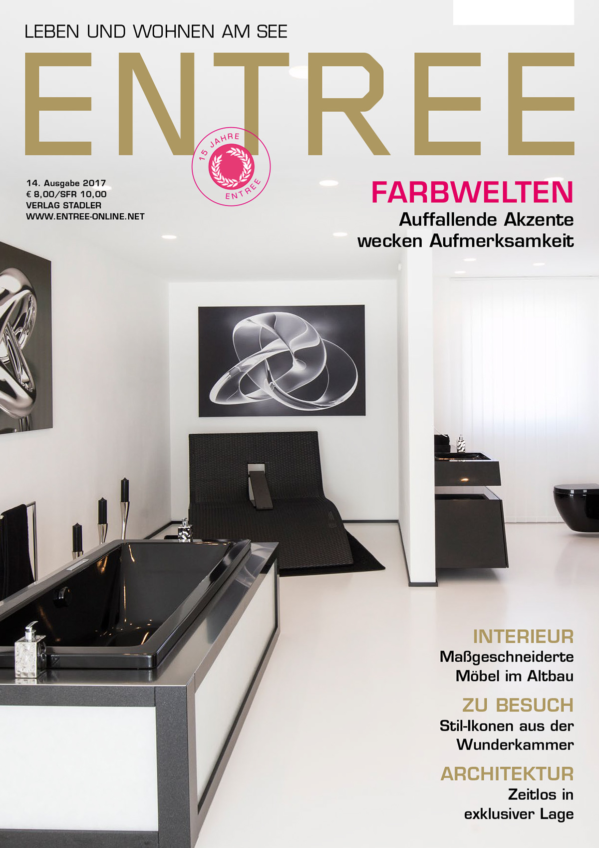 Coverdesign for ENTREE (Architecture Magazine) on Behance