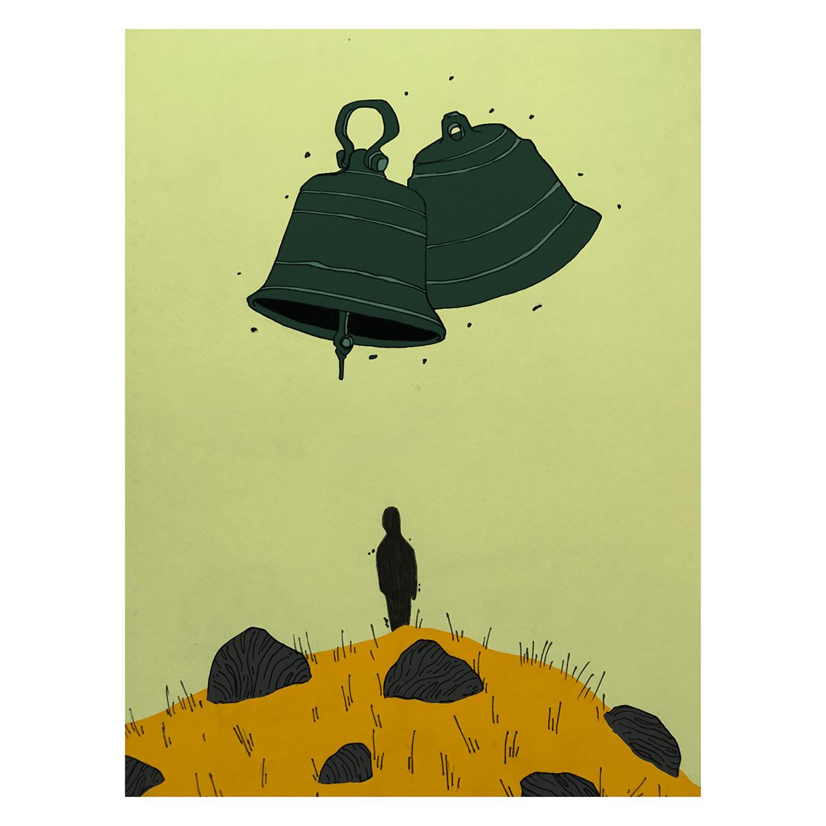 ILLUSTRATION  Digital Art  Poetry  journal Illustrator