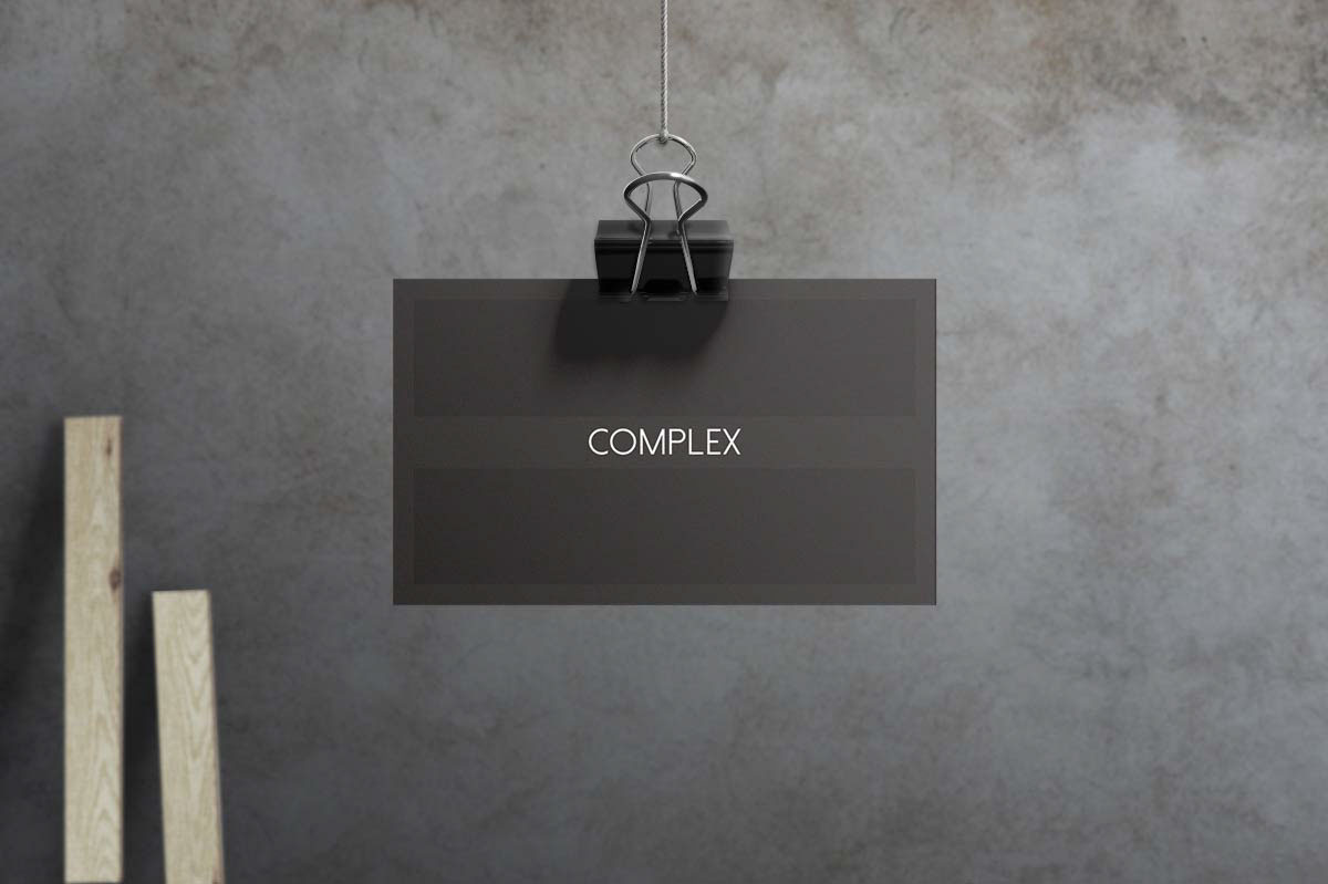 Complex - Business Card