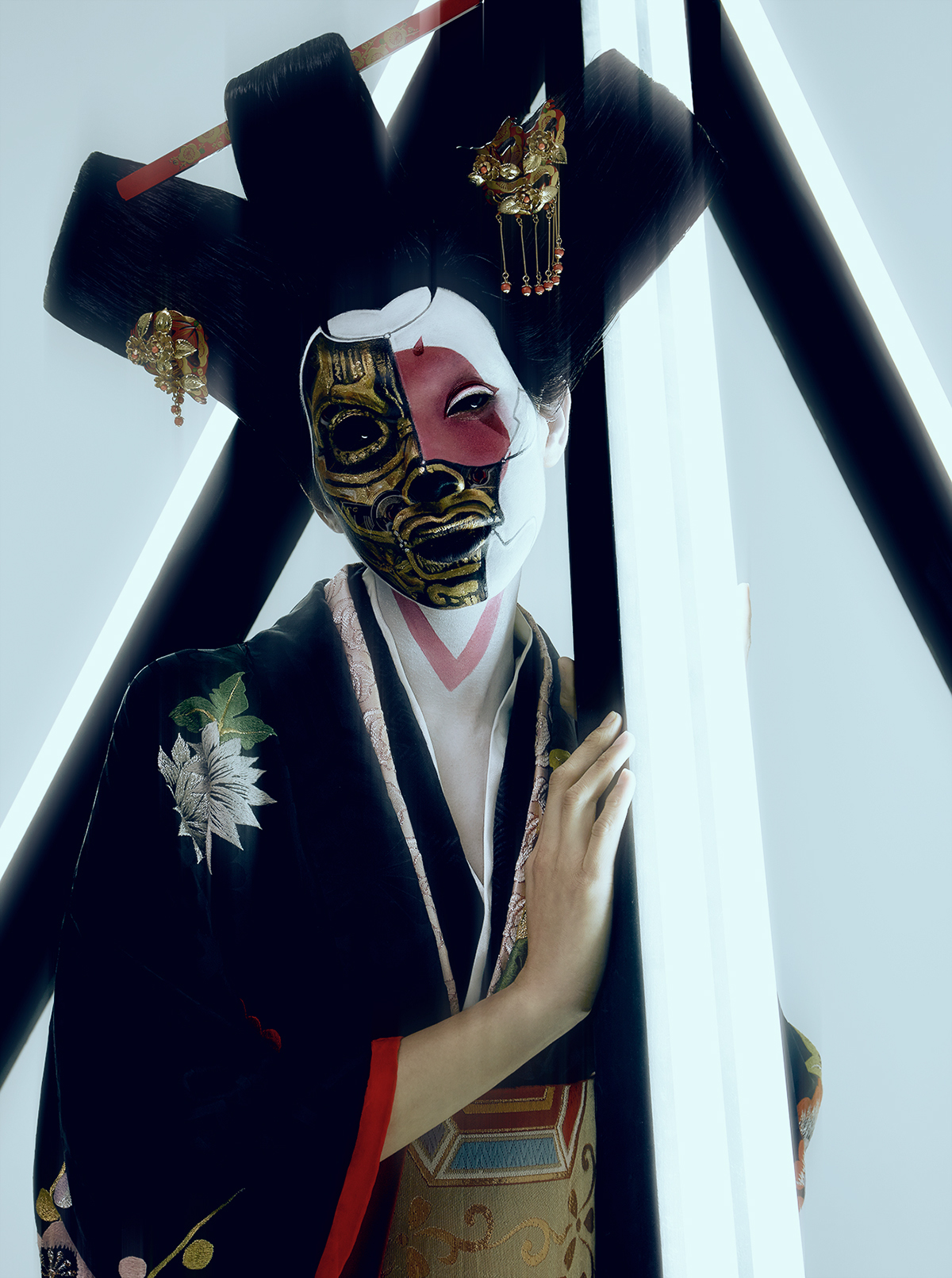 39 robot geisha 39 from the movie 39 ghost in the shell 39 on behance. Black Bedroom Furniture Sets. Home Design Ideas