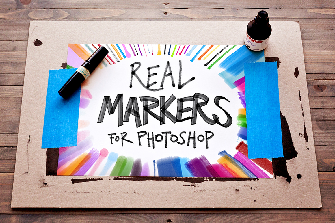FREEBIES – 12 REAL MARKERS ESSENTIALS on Behance