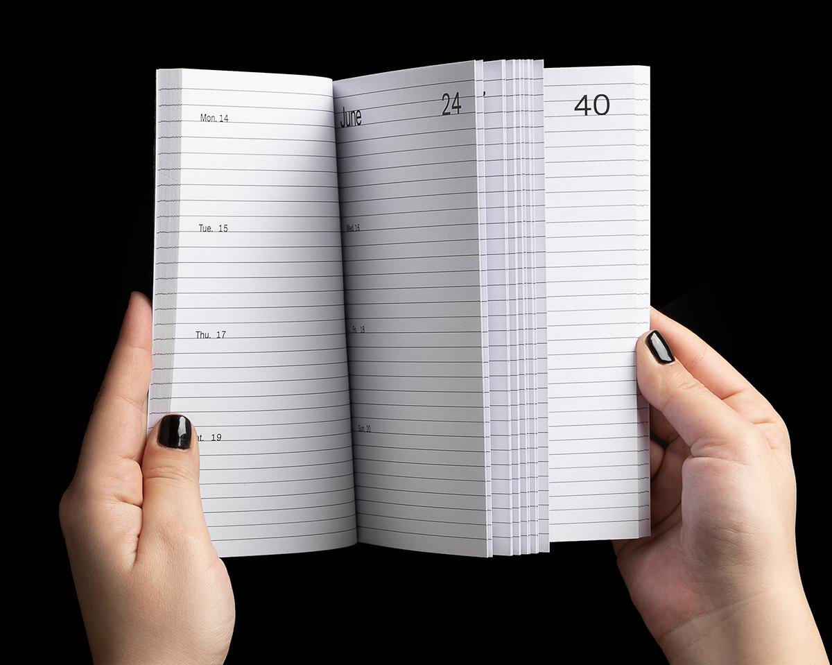 agenda art direction  book design calendar Creative Direction  editorial design  filippos fragkogiannis GEORGIA HARIZANI InDesign print design
